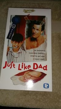 Just like dad vhs tape Hickory, 28601