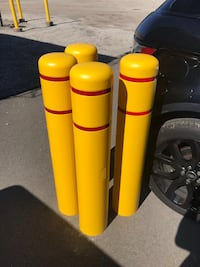 "4-Post Guard 4.5"" Bollard Covers , N0L 1G3"