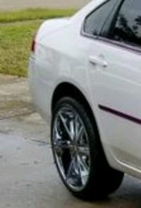"""22"""" RIM'S WITH BRAND NEW TIRES Fayetteville, 28304"""