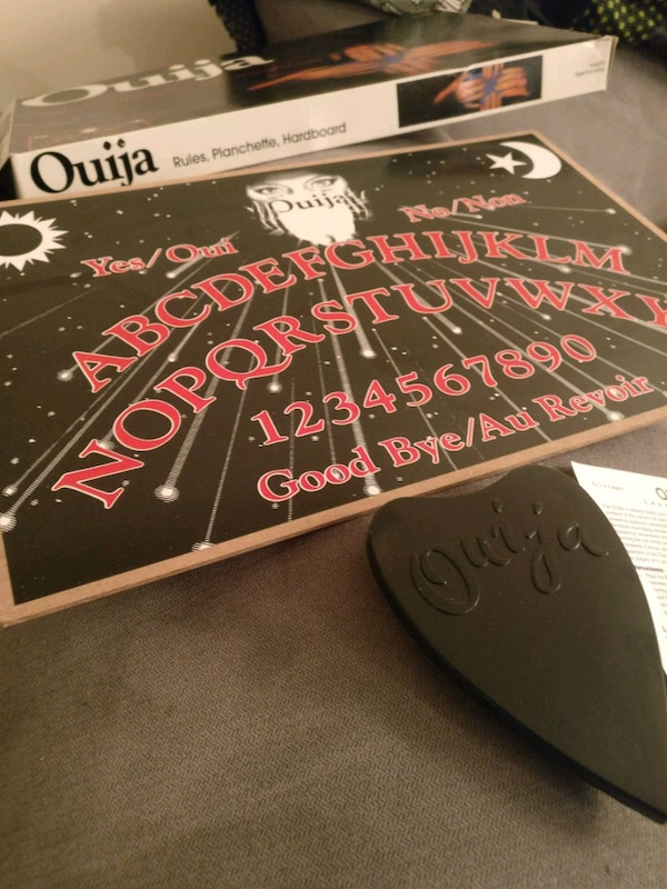 Never-Used! Ouija Board Game and Planchette!