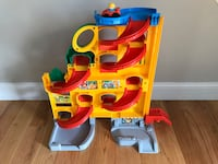 Fisher Price Little People Wheelies Stand N Play Race Track Herndon, 20171