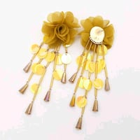pair of yellow flower earrings Falls Church, 22041