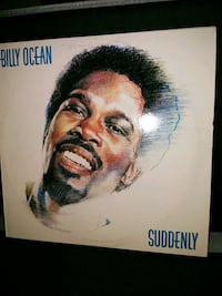 Billy Ocean Suddenly album cover