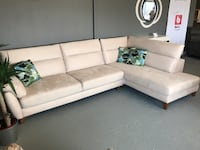sectional corner sofa - brand new - electricmotion THORNHILL
