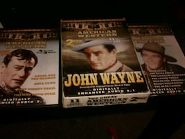 Old john wayne and Roy rogers dvd Western lovers