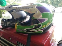 green and black motocross helmet Halethorpe, 21227