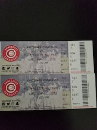 Vancouver Canadians Tickets X 2 Burnaby, V5C 2W6