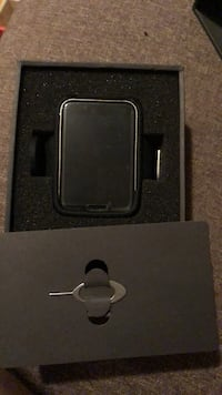 black and gray metal case 550 km