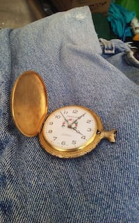 brass pocket watch its very old and does not work