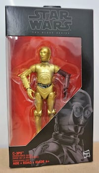 C3PO (RED ARM) ACTION FIGURE STAR WARS BLACK SERIE 552 km