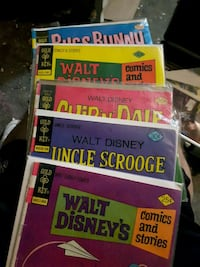 8 gold key Disney comics Mississauga, L5J 1M5