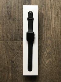 Black series 2 Apple Watch