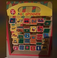 A B C spinner. —wooden toy  Vaughan, L4H 0V5