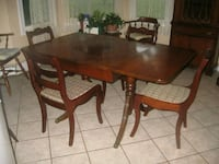 Duncan Phyfe table  China cabinet and buffet Welland, L3C 3H4