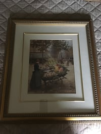 Gold framed picture Vaughan, L6A 3C6