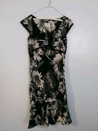 white and black floral sleeveless dress Raleigh, 27604