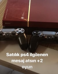 Playstation 4  + 2 oyun konsolu + 2 oyun ( pes16 - call of duty ) Gebze, 41400