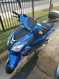 Adly scooter almost new
