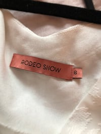 Rodeo Show white dress size Small  Toronto, M5J 0C8