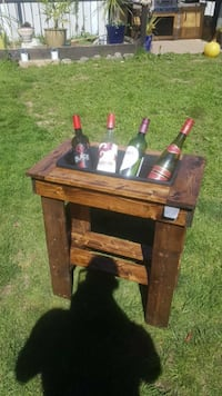 End Table Beer Cooler Victoria