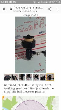 Mitchell Garcia Spincast Fishing Reel