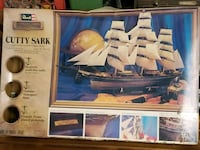 Cutty Sark vintage model ship San Francisco, 94132