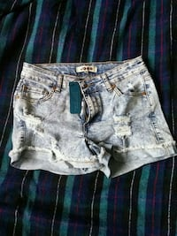 women's grey worn in denim short shorts Toronto, M2J