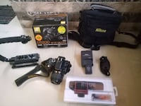 DSLR 5200 and all equipments