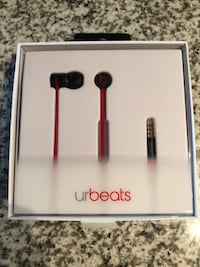 Beats In ear Buds! Red&Black New condition!  Edmonton, T5X 5Z9