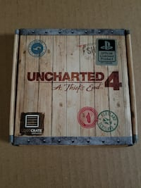 Uncharted 4 fold wallet with coin Littlerock, 93543