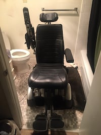 Black and gray mobility scooter 19 mi