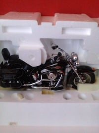 Hartley Davidson touring motorcycle scale model