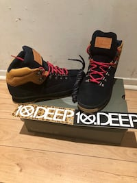 Timberland 10 Deep limited edition size 9 with box  Montréal, H2X 1L2