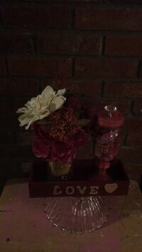 sweetheart centerpiece, candy and   flowers Fall River, 02720