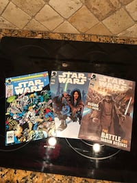 Three Star Wars comic books  Jacksonville, 32210