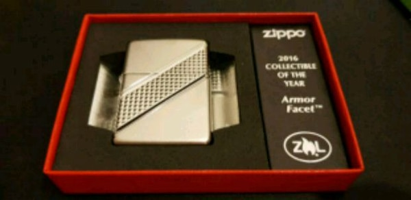 Zippo Armour Facet 2016 Collectable
