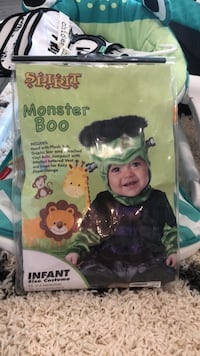 Monster Boo costume 12-18 months Oklahoma City, 73102