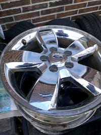 4 x 17  inch chrome mags