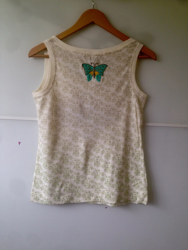 white and gray floral tank top 8e1ffbbf-77aa-4a3d-882f-63791aae973f