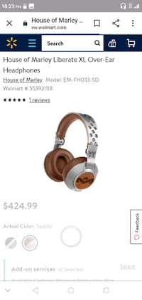 House of Marley Liberate XL Over Ear Headphones