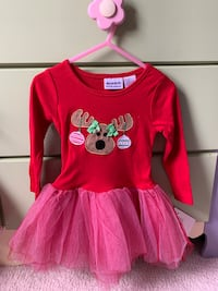 Toddler Christmas dress Alexandria