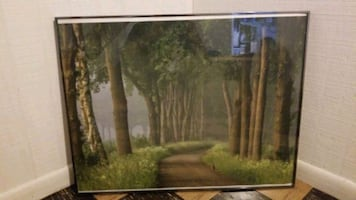 Nielsen frame with print