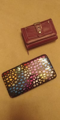 Wallets/clutch never used