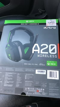 black and green Xbox A20 wireless headphone Frederick, 21701