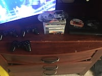 PS3 with 3 controllers and a charger with 14 games Augusta, 30906