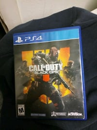 PS4 Call of Duty game case Port Richey, 34668