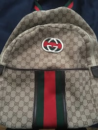Gucci canvas backpack Hialeah, 33010