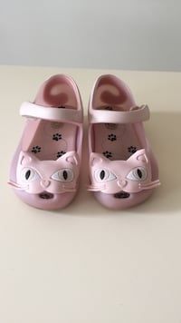 Mini Melissa girl's Cat Pink shoes size 7