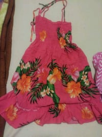 red and green floral sleeveless dress Honolulu, 96819