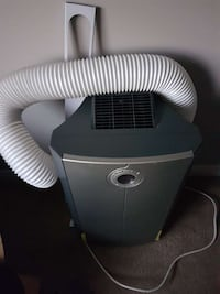 gray and black portable AC unit.    If the ad is s Edmonton, T5Y 3L7